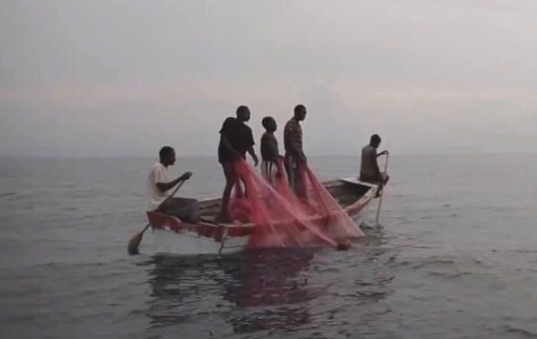 Pescatori sul lago Nyassa