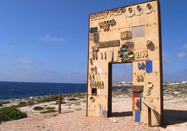 La porta di Lampedusa, la porta d'Europa