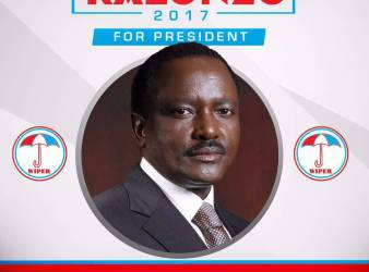 Manifesto elettorale di Kalonzo Musyoka
