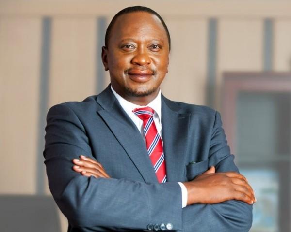 Il Presidente in carica, Uhuru Kenyatta
