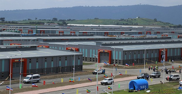 Uno dei siti industriali etiopi recentemente realizzati