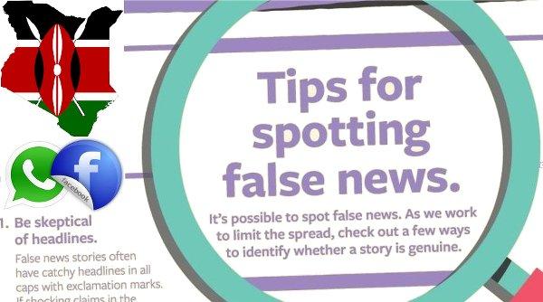 Tips for spotting Facebook Kenya