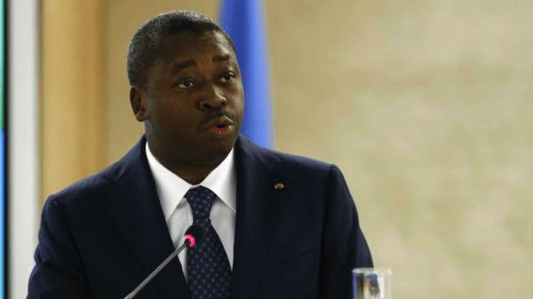 Il presidente del Togo Farue Gnassingbè