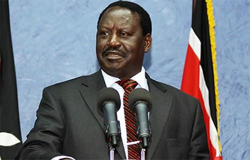 Il leader del NASA Raila Odinga