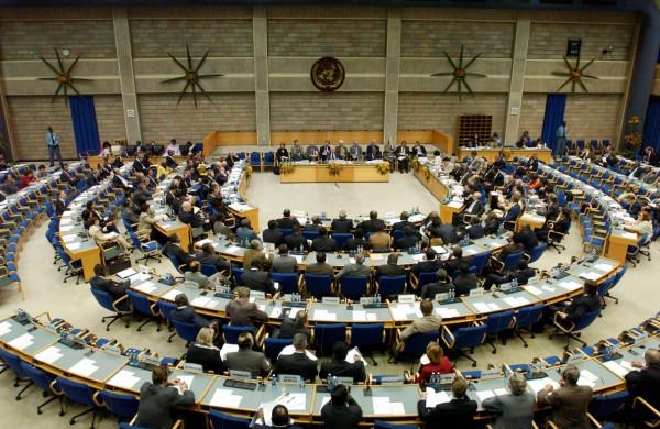 La sala conferenze della sede ONU di Nairobi