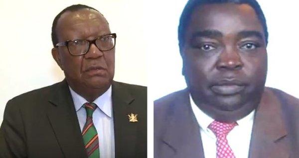 Gli ex ministri arrestati per corruzione. Da sin: Joseph Made e Jason Machaya