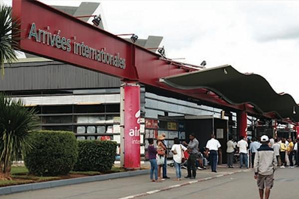 Aeroporto internazionale. Madagascar