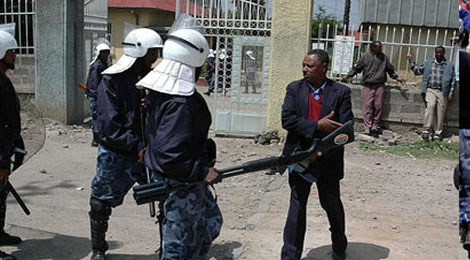 Maekelawi, centro di detenzione ad Addis Ababa, Etiopia