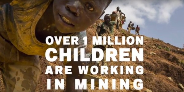 Oltre un milione di bambini lavorano nelle miniere (fonte HRW)