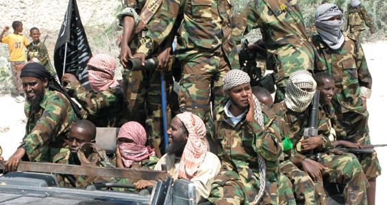 Bambini soldato al-Shebab in Somalia