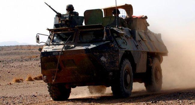 Due soldati della missione Barkhane francese, morti sul loro blindato