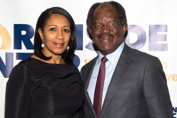 Adebayio Ongulesi (Bayo) con la moglie
