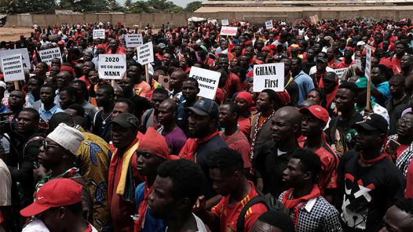 Proteste in Ghana contro il MoU tra Accra e Washington