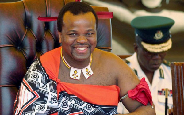 Mswati III, re dello Swaziland