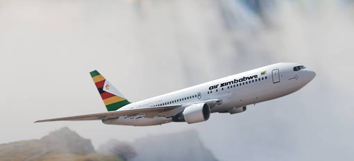 Uno dei due Boeing 737-200 di Air Zimbabwe (Courtesy Air Zimbabwe)