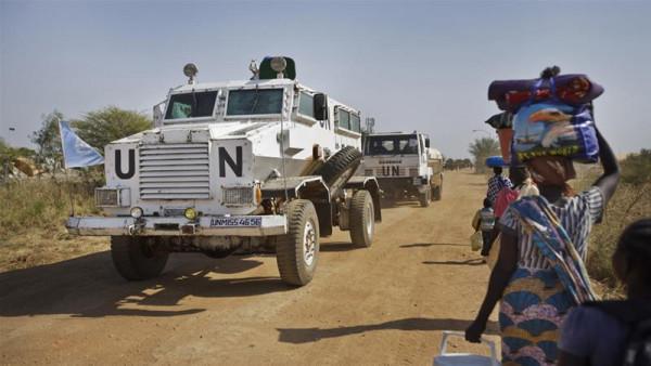 Convoglio ONU in Sud Sudan