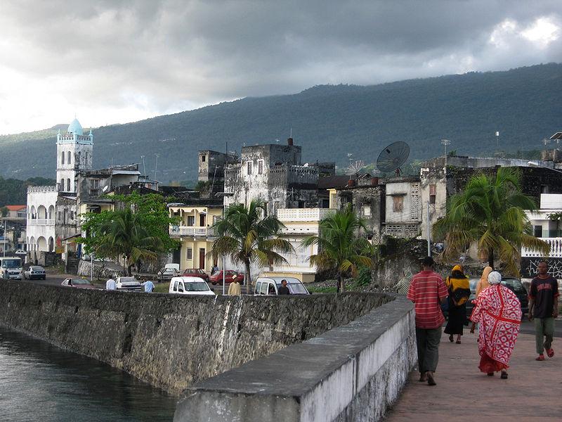 Porto di Moroni, la più grande città dell'Unione delle Comore