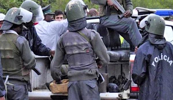 Forze di sicurezza a Cabo Delgado