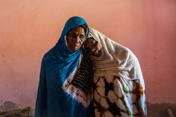 Fatimatou e sua figlia Mbarka, due ex schiave