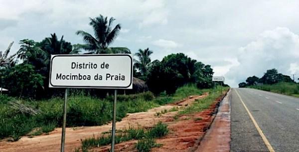 Ingresso nella provincia di Mocimboa da Praia, a Cabo Delgado