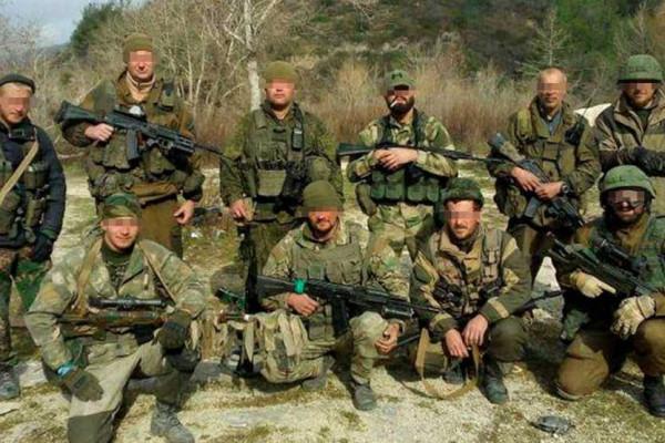 Mercenari russi del gruppo Wagner