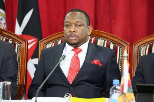 Il governatore della Contea di Nairobi, Mike Sonko