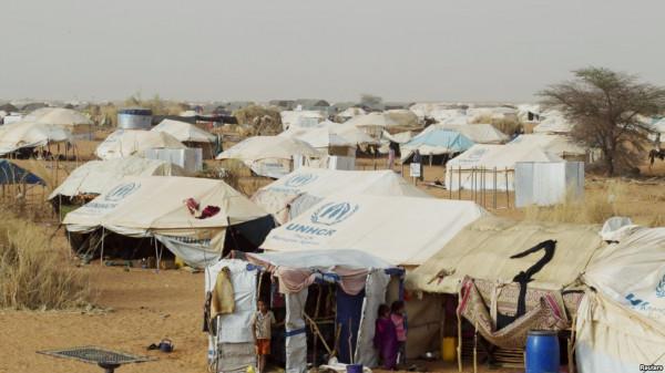 Campo per sfollati a Ménaka, Mali