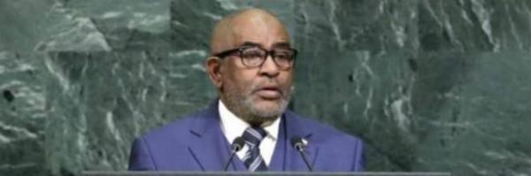 Azali Assoumani, presidente delle Comore