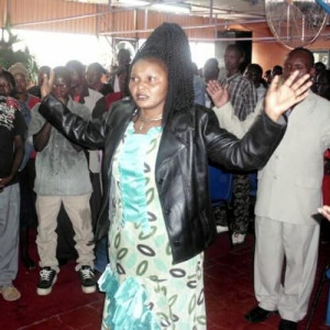 "La ""profetessa guaritrice"" Lucy Nduta"