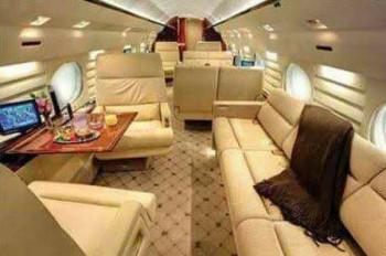 Il lussuoso interno del prossimo Jet presidenziale