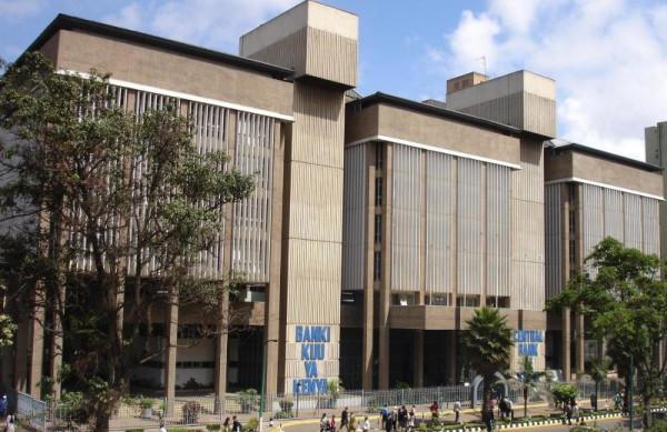 Il palazzo della Banca Centrale del Kenya a Nairobi