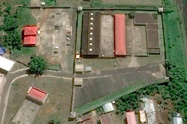 La prigione famigerata di Black Beach, a Malabo, in Guinea Equatoriale