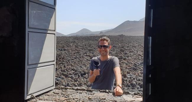 Un'immagine di Davide Solazzo a Capo Verde Courtesy Cospe)