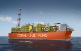 Coral Sul FLNG, liquidificatore di gas naturale