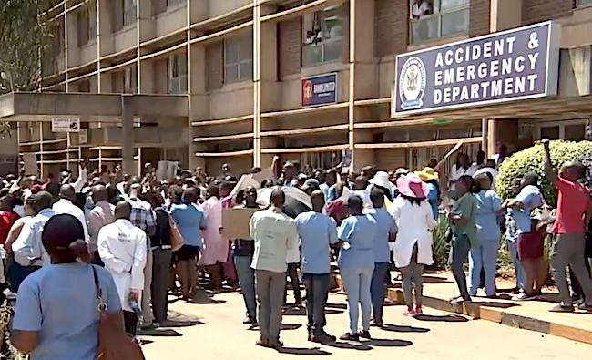 Sciopero dei medici in Zimbabwe