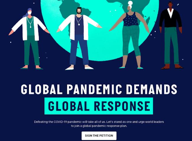 Firma la petizione per un impegno dei leader a livello globale