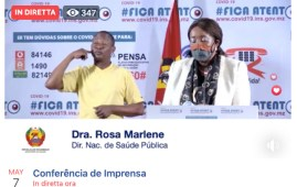 Covid-19, conferenza stampa su Facebook di Rosa Marlene del Ministero della Salute