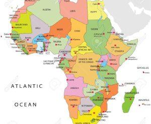 Cartina Dell Africa Fisica E Politica.Cartina Africa Fisica Muta