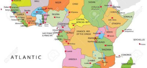 Cartina Africa Egitto.Cartina Africa Del Nord