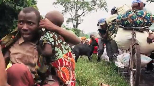 Profughi in fuga dai combattimenti a Cabo Delgado, nord del Mozambico SADC