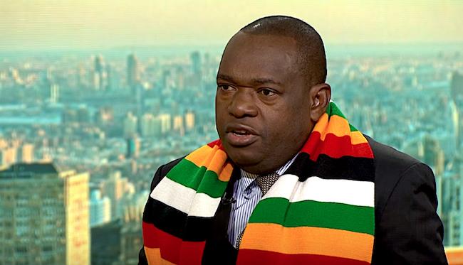 Sibusiso Moyo, ministro degli Esteri dello Zimbabwe