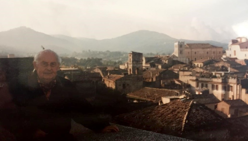 Alatri, 1991, Stéphane Grappelli nella città di suo padre Ernesto