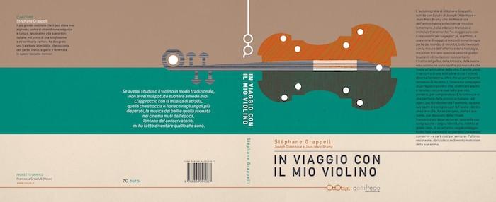 Copertina del libro su Stephane Grappelli