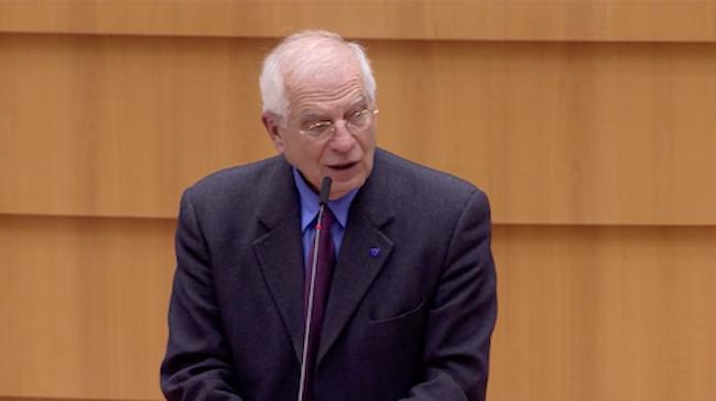 Rifugiati - Josep Borrell Fontelles, Alto rappresentante per Esteri dell'UE