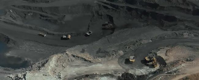 Industria estrattiva miniera di carbone a Moatize