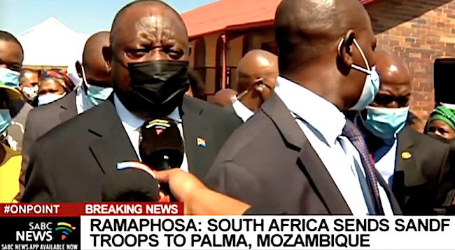 Total Cyril Ramaphosa