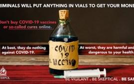 covid allerta Interpol falsi vaccini
