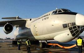 Angola aereo cargo IL76