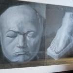 [絵画]石膏像デッサン