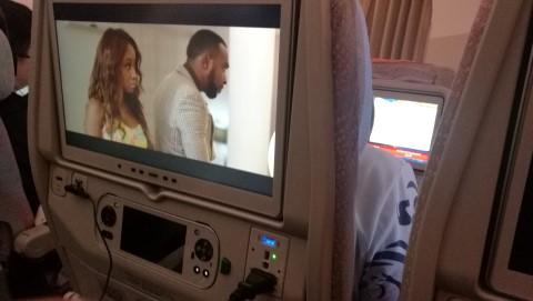 Silverain(Juliet Asante)というガーナ映画を観て気持ちを高める。